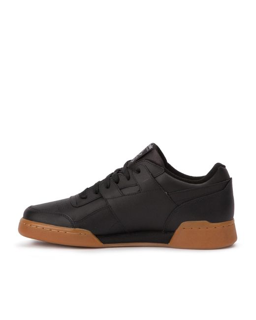 4012b20f93253a Lyst - Reebok Workout Plus Gum Sole (cn2127) in Black for Men - Save 57%