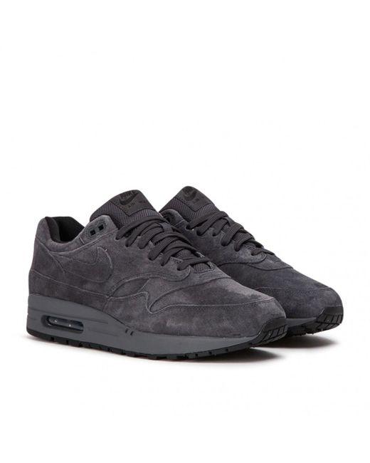 big sale 964ea d7889 Nike - Gray Nike Air Max 1 Premium for Men - Lyst ...
