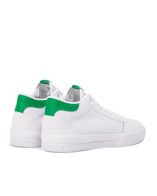 2e3909644d1ac Men's White Adidas Lucas Premiere Mid