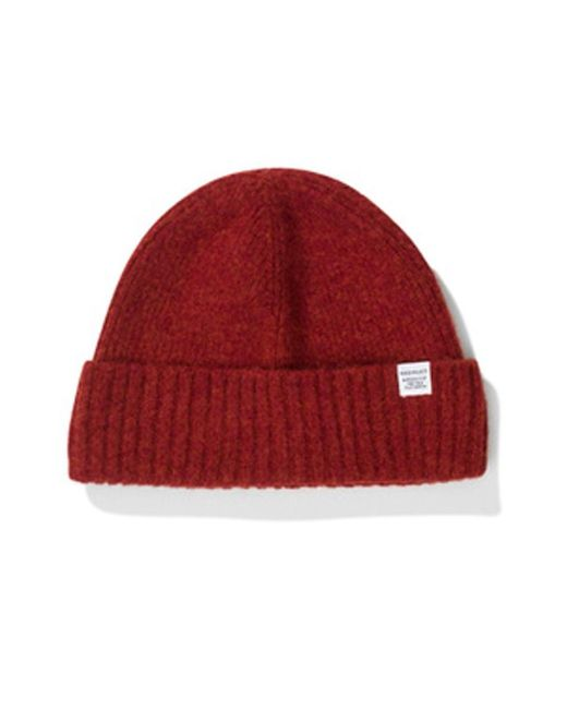 Norse Projects - Blue Brushed Lambswool Beanie for Men - Lyst
