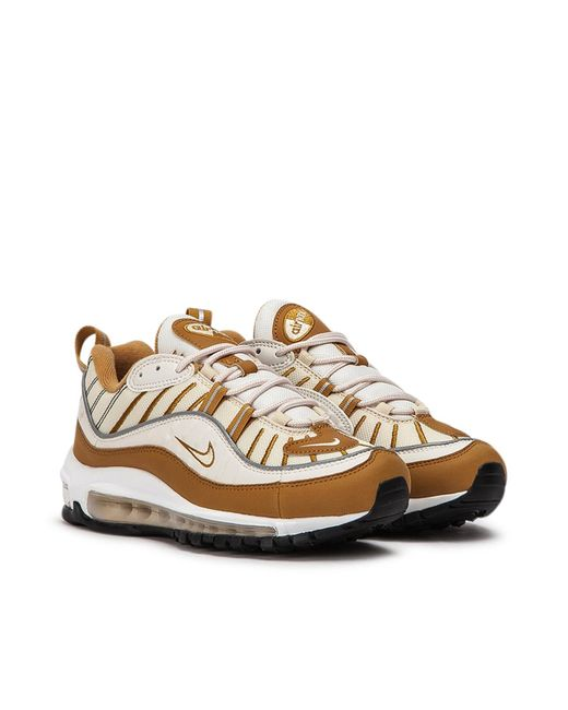 pretty nice uk availability best wholesaler Nike Leather Nike Wmns Air Max 98 in Beige (Natural) for Men - Lyst