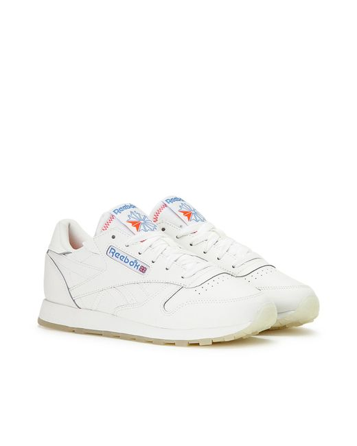Reebok Wmns Classic Leather in White - Lyst