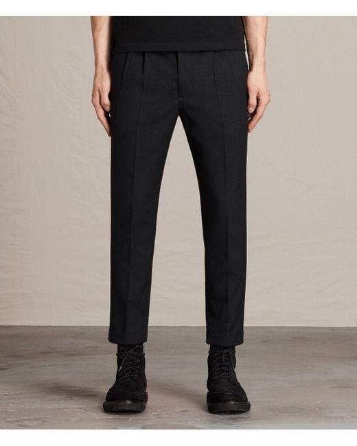 AllSaints | Gray Tallis Pant Usa Usa for Men | Lyst
