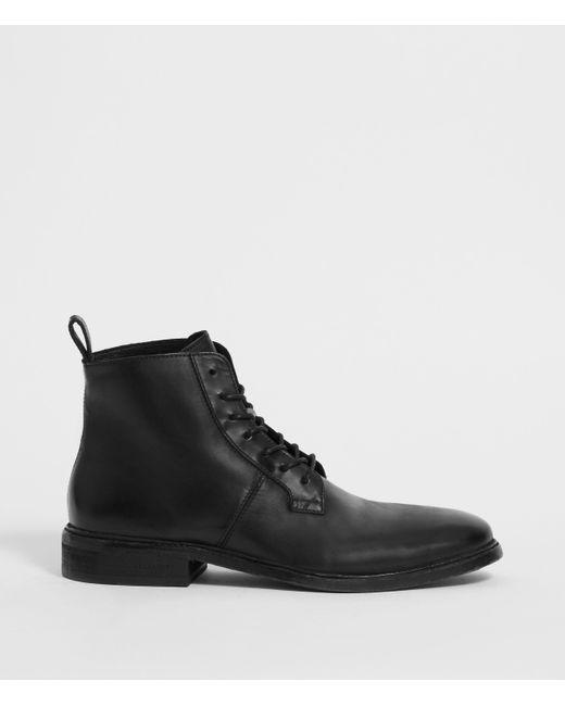 AllSaints Black Leven Boot for men