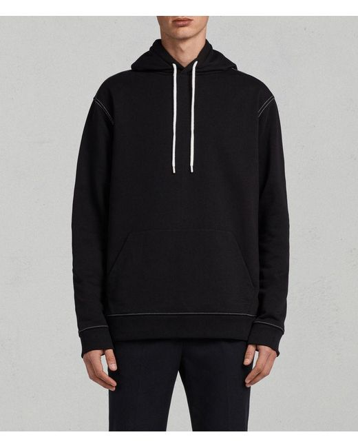 AllSaints - Black Sambic Hoody for Men - Lyst