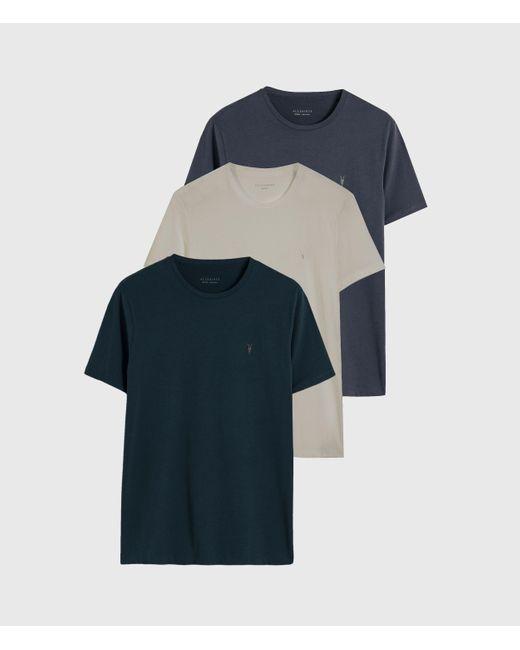 AllSaints Multicolor Brace Tonic 3 Pack T-shirts for men