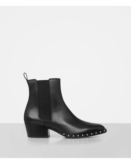 AllSaints   Black Ellis Ankle Boot   Lyst