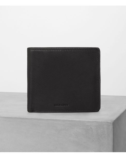 AllSaints | Black Blyth Wallet for Men | Lyst