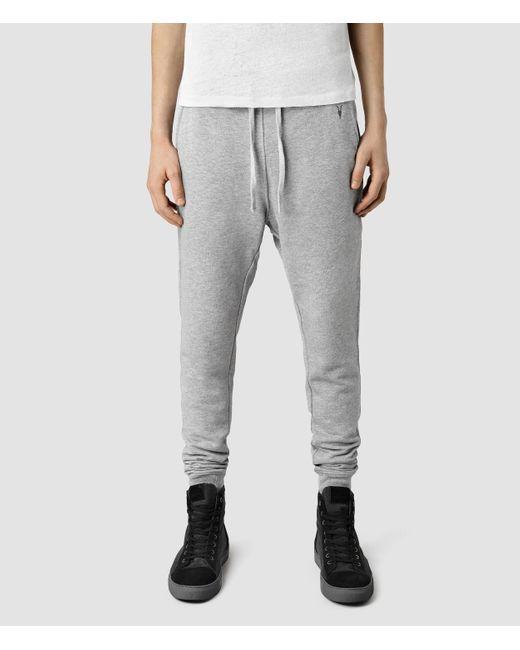 AllSaints | Gray Wilde Sweatpant for Men | Lyst