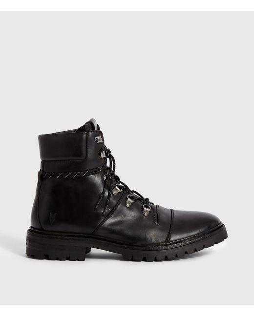 AllSaints Black Newton Boot for men