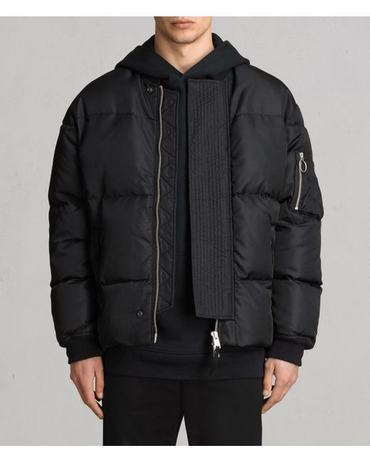 AllSaints Multicolor Caisey Puffer Jacket for men