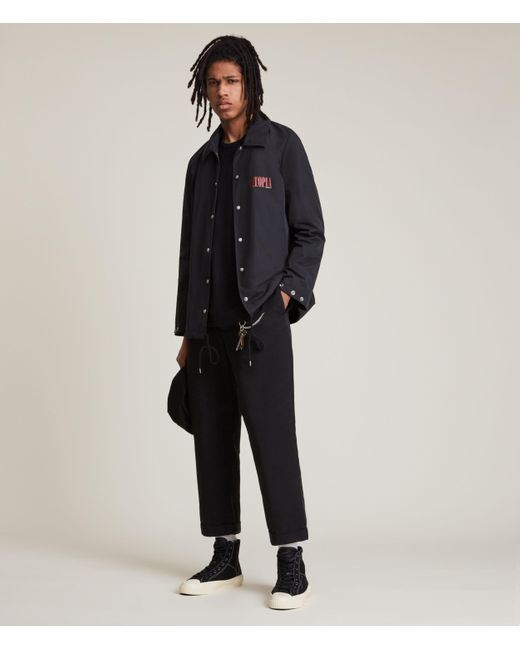 AllSaints Black Men's Sheffi Jacket for men