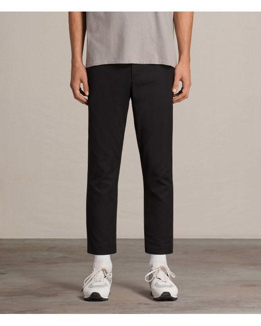 AllSaints   Black Kato Trouser for Men   Lyst