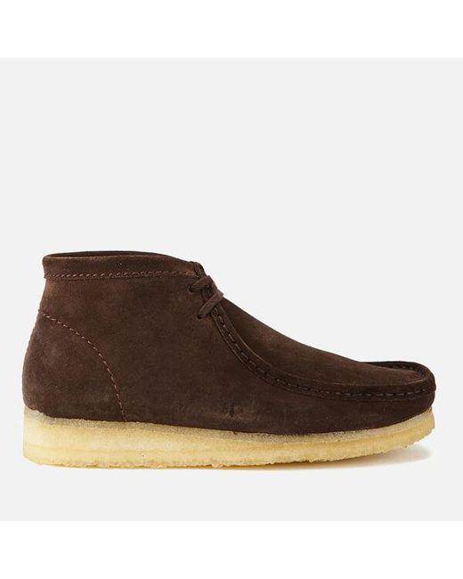 Clarks | Brown Men's Wallabee Boots for Men | Lyst