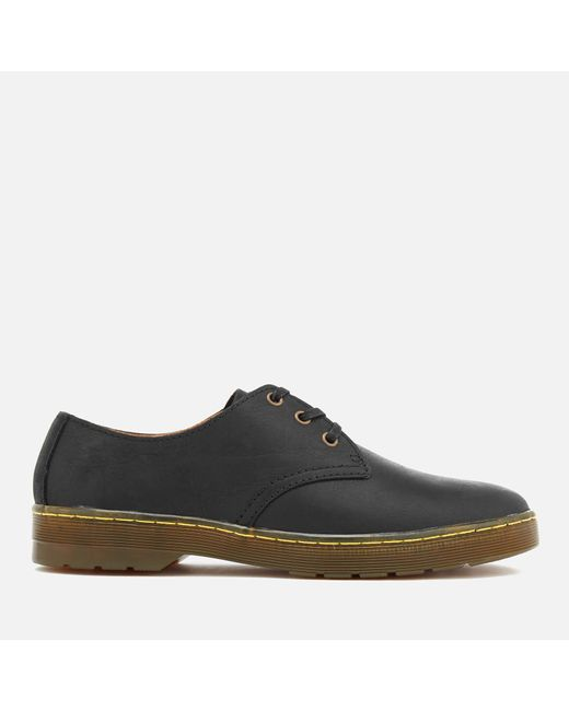 Dr. Martens - Black Cruise Coronado Leather Derby Shoes for Men - Lyst