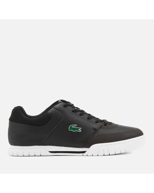 8c830dfc4539db Lacoste - Black Indiana Evo 316 Trainers for Men - Lyst ...