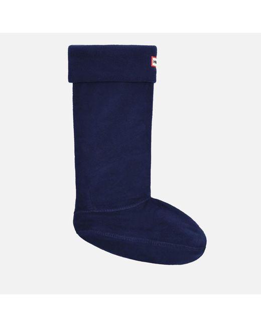 Hunter - Blue Unisex Fleece Welly Socks - Lyst