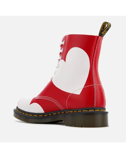 Dr. Martens Women's Pascal Valentine Smooth Lace Low Boots Marketable Cheap Official Site Hot Sale For Sale Countdown Package Sale Online Outlet Sast 1C9B9