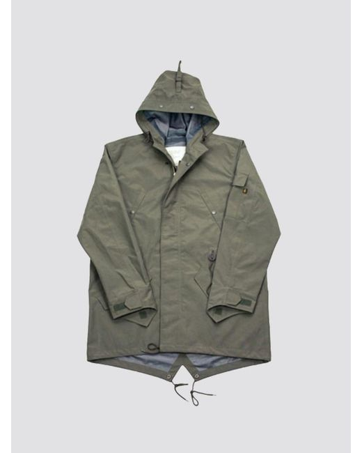 info for 819ae cf70d Men's Green Ace Hotel's Rain Jacket