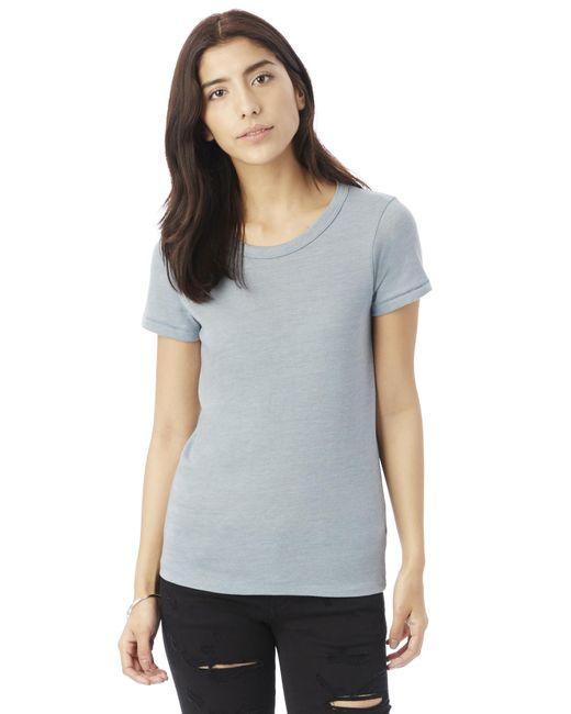 Alternative Apparel | Blue Ideal Eco-jersey T-shirt | Lyst