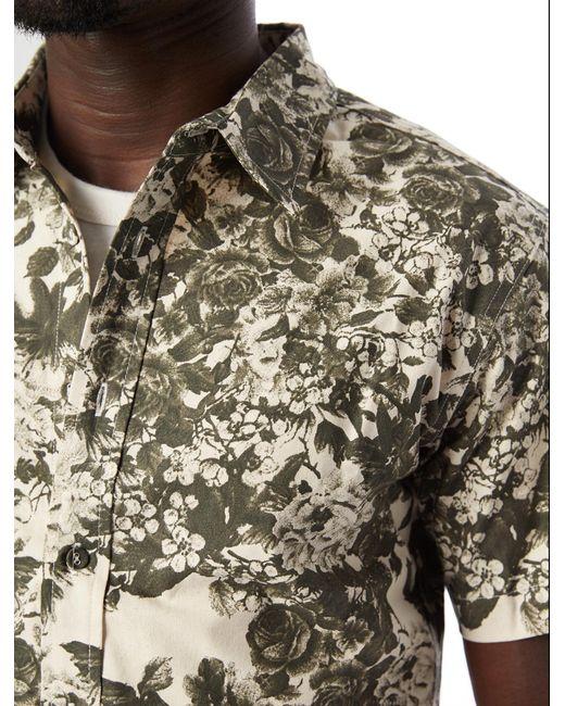 Alternative Apparel - Green Publish Rey Button Down Shirt for Men - Lyst