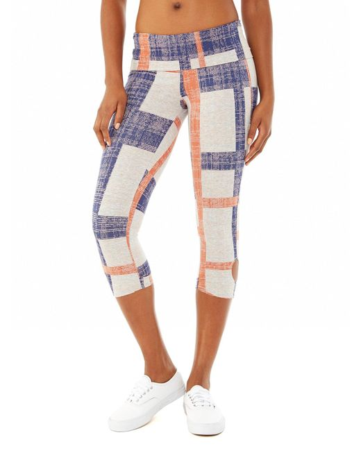Alternative Apparel | Multicolor Pull Up Printed Stretch Leggings | Lyst