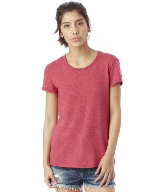 Alternative Apparel - Pink Keepsake Vintage Jersey T-shirt - Lyst