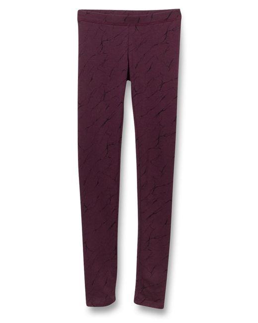 Alternative Apparel | Purple Printed Spandex Go-to Leggings | Lyst
