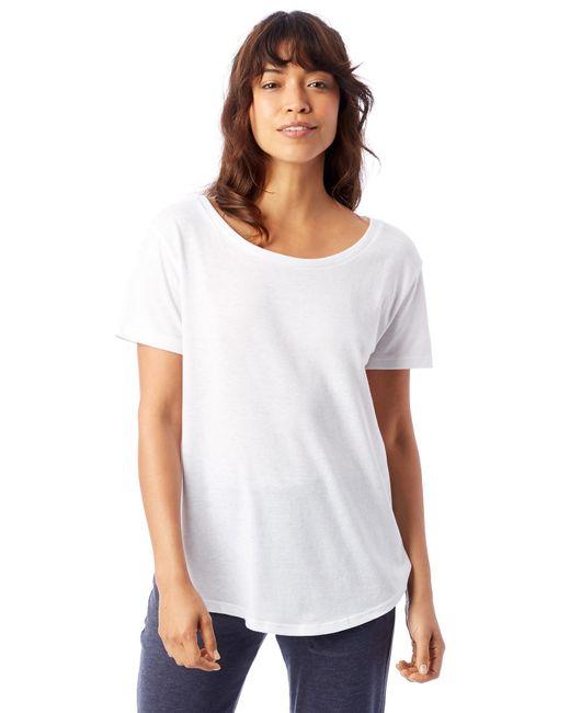 Alternative Apparel - Black Backstage Vintage Jersey T-shirt - Lyst