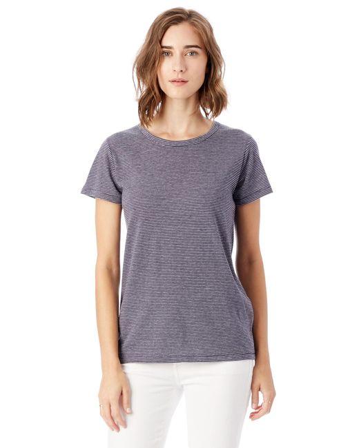 Alternative Apparel - Blue Ideal Eco-jersey T-shirt - Lyst