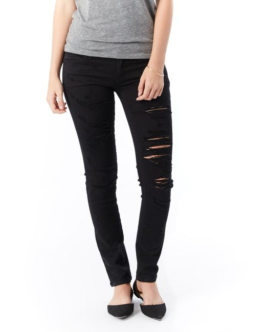 Alternative Apparel | Black Agolde Chloe Low Rise Slim Jeans | Lyst