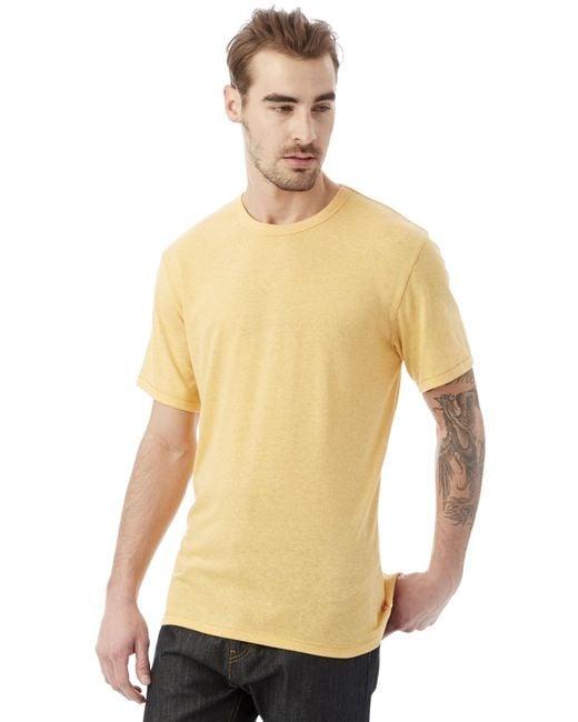 Alternative Apparel - Black Keeper Vintage Jersey Crew T-shirt for Men - Lyst