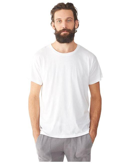 Alternative Apparel - White Perfect Vintage Organic Pima T-shirt for Men - Lyst