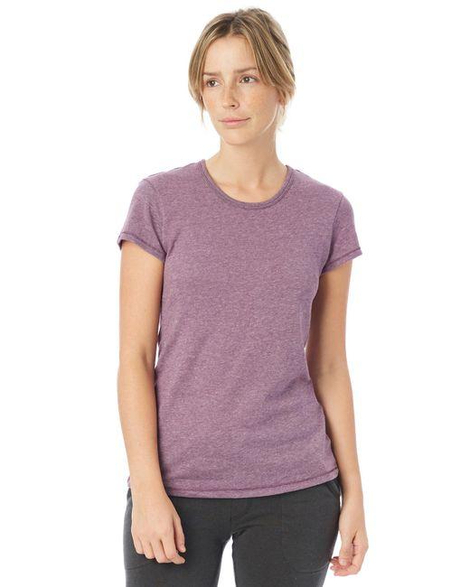 Alternative Apparel - Purple Keepsake Vintage Jersey T-shirt - Lyst