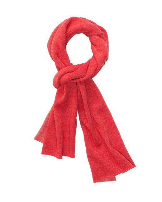 Alternative Apparel | Red Slim Eco Fleece Scarf | Lyst