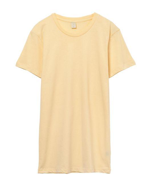 Alternative Apparel - Yellow Basic Womens Crew T-shirt - Lyst
