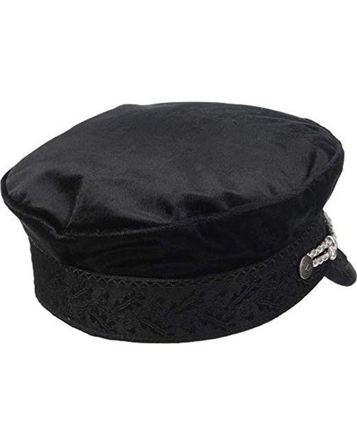 11d78717ea9 ... Brixton - Black Albany Greek Fisherman Hat for Men - Lyst