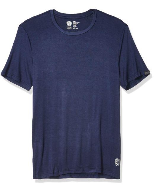 Vince Camuto Blue Crew Neck Sleep T-shirt
