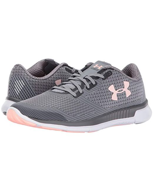 newest c8a90 ee504 Women's Gray Charged Lightning Running Shoe