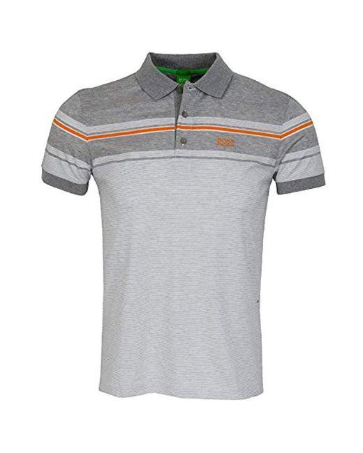 BOSS - White Boss Green Paule 5 Short Sleeve Polo Shirt for Men - Lyst