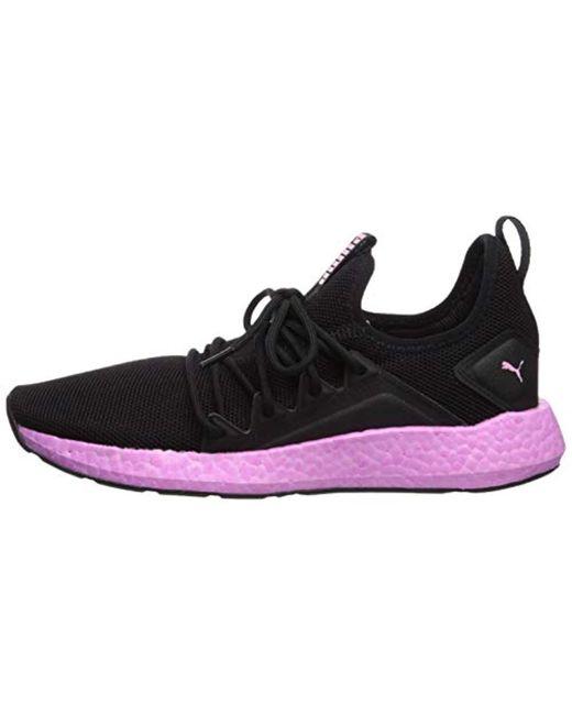 PUMA Nrgy Neko Sneaker in Black Lyst