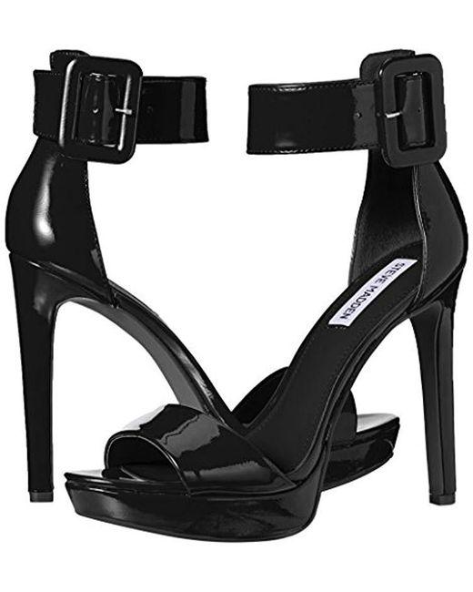 83cf6167556 Lyst - Steve Madden Circuit Dress Sandal in Black - Save 1%