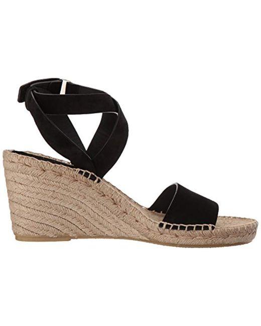 08a5ad17c8d Women's Black Nevada Espadrille Wedge Sandal