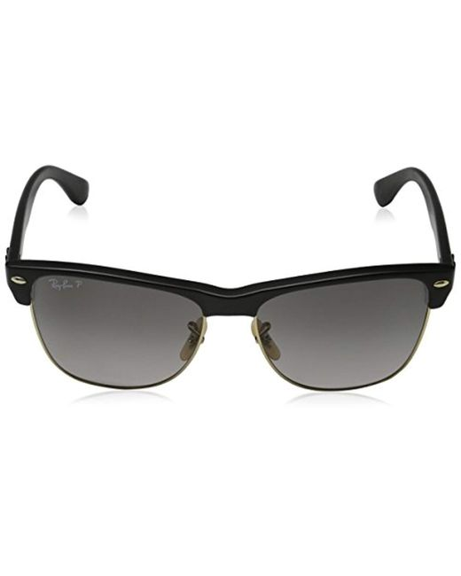 e186c998533f9 low price ray ban black rb4175 clubmaster oversized sunglasses for men lyst  0db1c 6dcdc