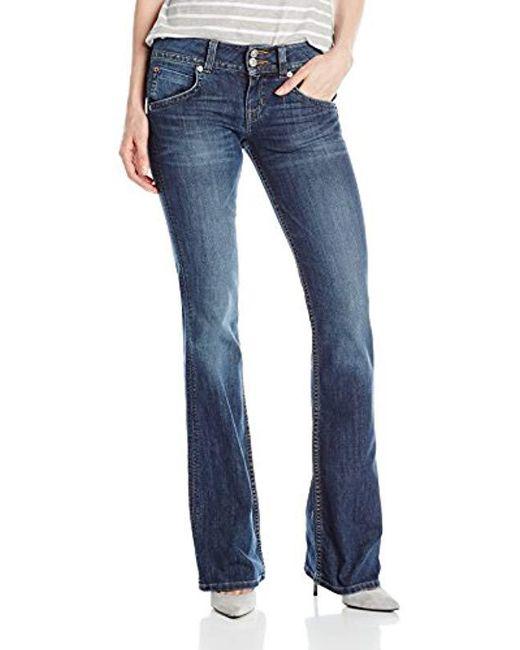 Hudson - Blue Signature Midrise Boot Cut Jean In Spy Glass - Lyst