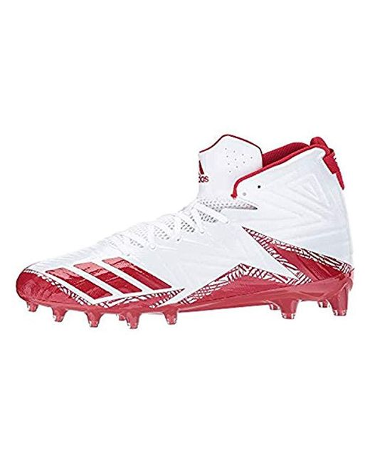 fabc604306d ... Adidas - Red Freak X Carbon Mid Football Shoe for Men - Lyst ...