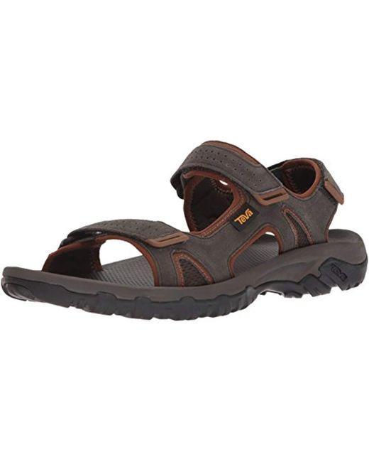 Teva M Katavi 2 Sandal, Black Olive, 9 M Us for men