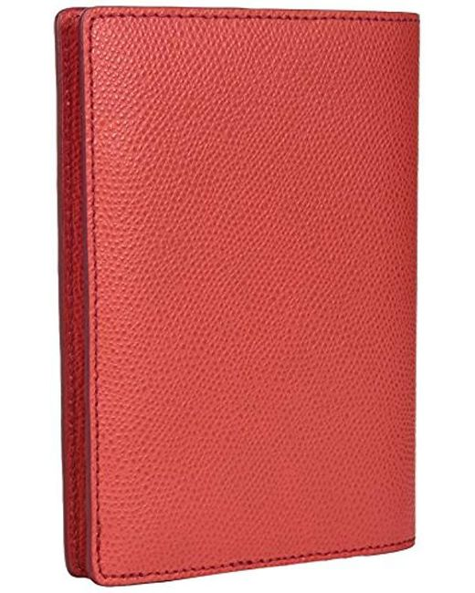 54a6b66faa Lyst - Tumi Province Passport Case (ember) Wallet in Red - Save 42%