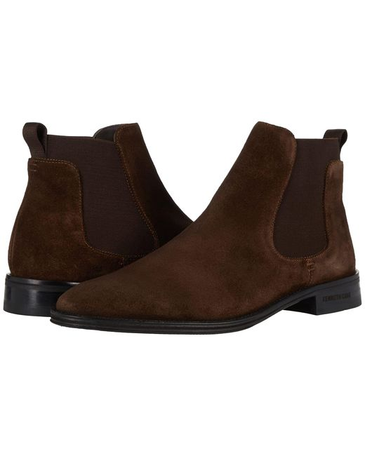 Kenneth Cole Brown Tully Chelsea Boot for men