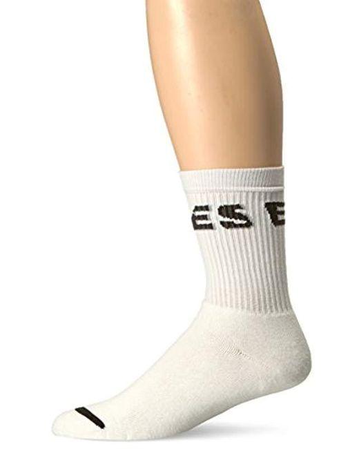 DIESEL - White Skm-ray Sock Band, for Men - Lyst